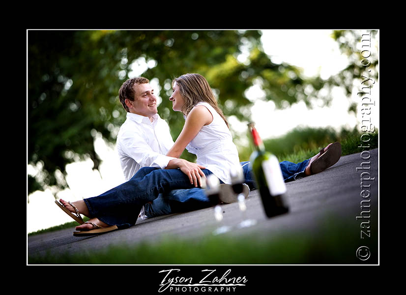 Mike Wilson and Kelly Niswonger's Engagement Photo