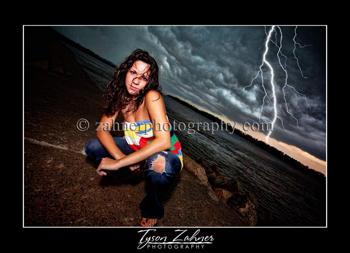 This is Brianna Vance from Jackson High School - and this was one scary sky!